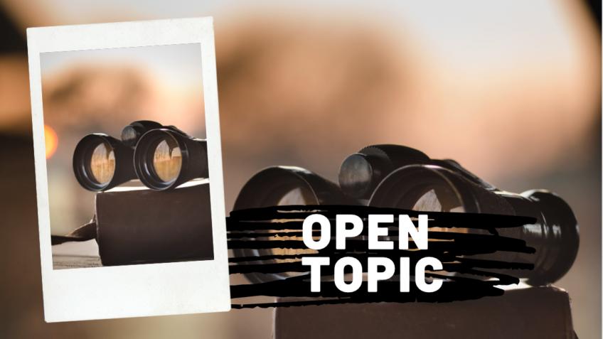 Open Topic 2021
